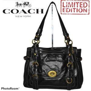 Coach Legacy Black Garcia Shoulder Handbag VINTAGE